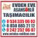 Antalya Şehirler Arası Evden Eve Nakliyat